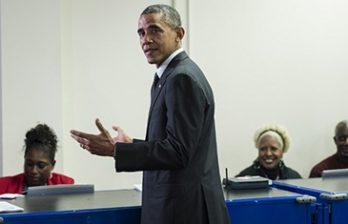 <!--:ru-->В Чикаго Барака Обаму попросили не распускать руки<!--:-->