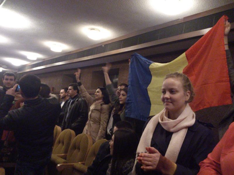 Концерт унионистов в мун. Бэлць остался незамеченным руководством города (ФОТО, ВИДЕО)