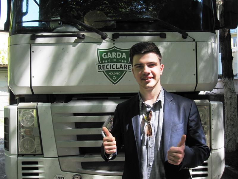 Проект «Garda de Reciclare» посетил Бельцы (ФОТО, ВИДЕО)