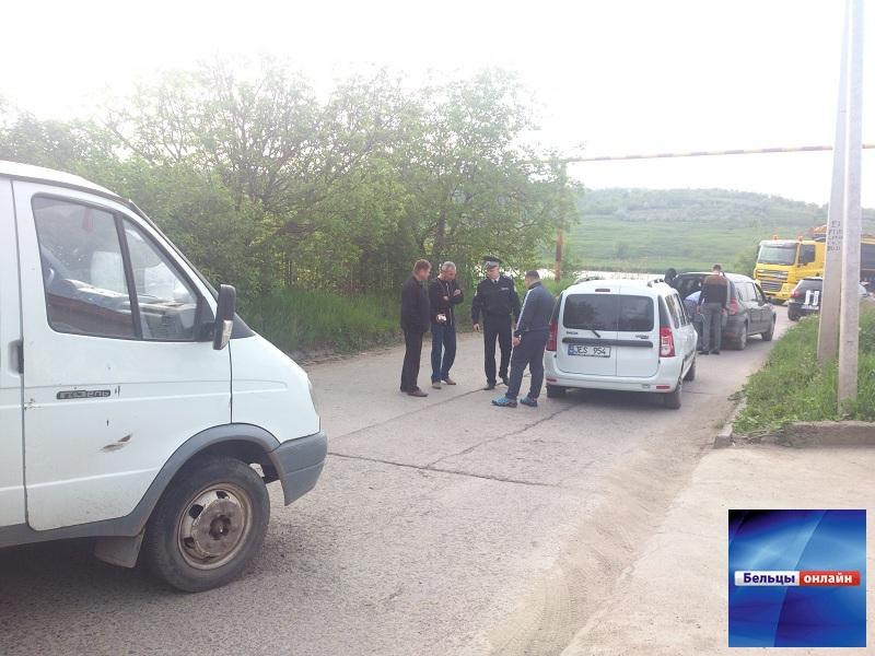 В районе Городского озера произошла дорожная авария (Фото/Видео)