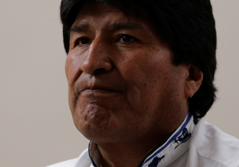 Президент Боливии случайно в суде включил порно на телефоне ...