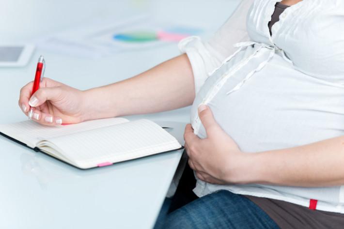 Когда уходит беременная женщина в декрет 55