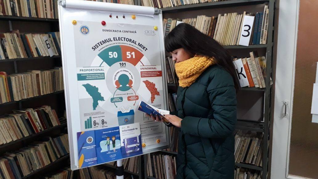 Информация о выборах – в Вашей библиотеке!