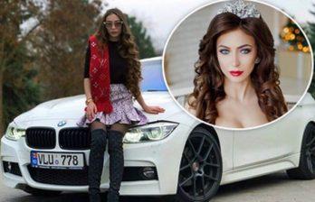 Автоледи на BMW снова грубо нарушила ПДД и похвасталась этим в соцсетях