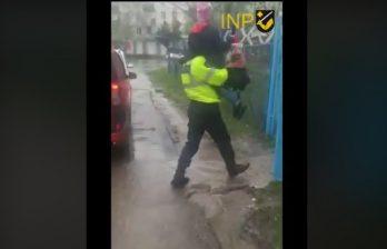 Бельцкая полиция помогла девочке добраться домой