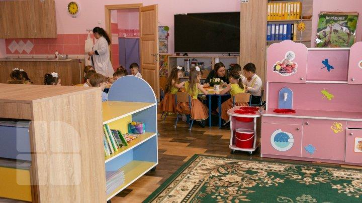 Более сотни детсадов были открыты и восстановлены в Молдове за последние несколько лет