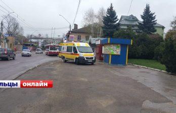 Сегодня утром в Бельцах троллейбус протащил женщину несколько метров (ФОТО)