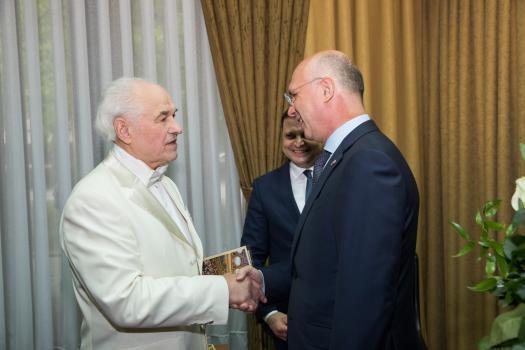 """Премьер Филип посетил концерт композитора Евгения Доги """"Дорога памяти"""""""