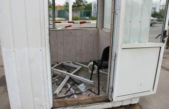 Женщина дважды за день протаранила на авто КПП в Приднестровье