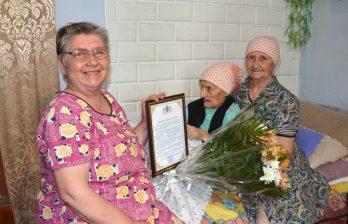 Бельчанке исполнилось 102 года