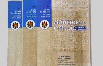 Указ о роспуске парламента опубликован в Официальном Мониторе
