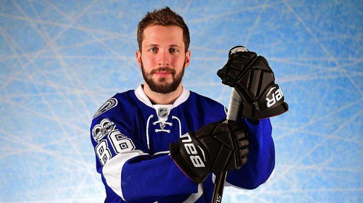 Российский нападающий Никита Кучеров признан самым ценным хоккеистом НХЛ