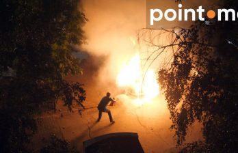 Сегодня ночью в Кишиневе сгорел припаркованный автомобиль (ФОТО/ВИДЕО)
