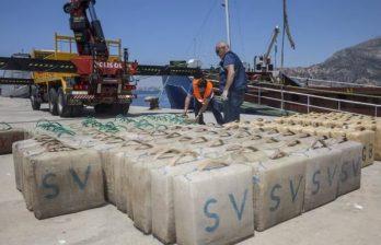 Опубликовано видео с судна под флагом Молдовы, перевозившим гашиш