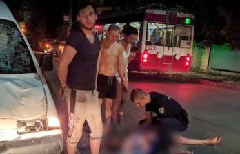 (ВИДЕО) В Бельцах выпившего мужчину насмерть сбил автомобиль