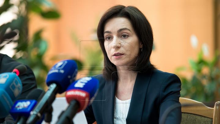 Майя Санду признала, что решение Конституционного суда - законно