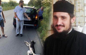 Шок: священник привязал цепью собаку к машине и проехал так несколько километров