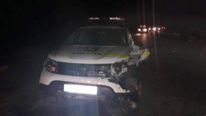 Авария с участием мотоциклистов и машины полиции в Комрате вызывает много вопросов