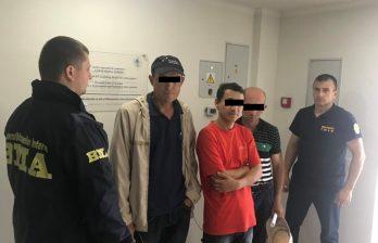 (ФОТО) В Бельцах задержали граждан стран СНГ, нелегально находящихся на территории страны