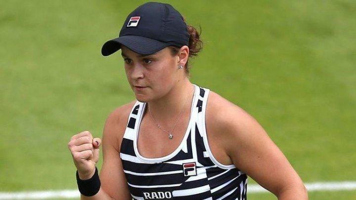 Австралийская теннисистка Эшли Барти вышла в полуфинал турнира WTA в Ухане