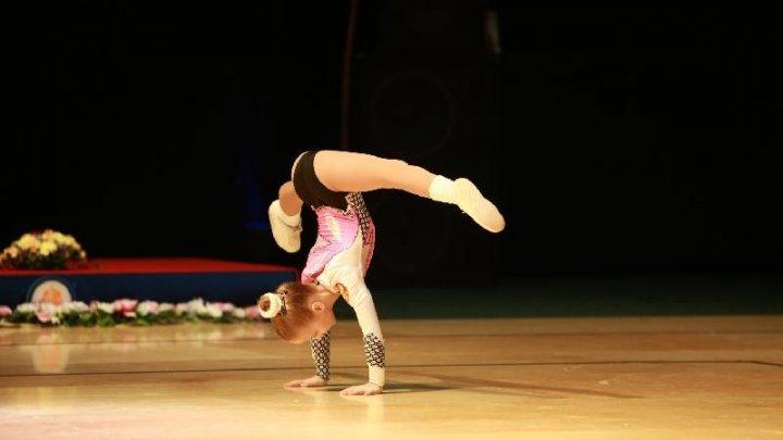 В Кишиневе проходит чемпионат по аэробной гимнастике