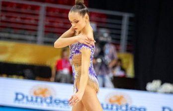 Молдавская гимнастка Анастасия Закревски - мастер спорта в свои 17 лет