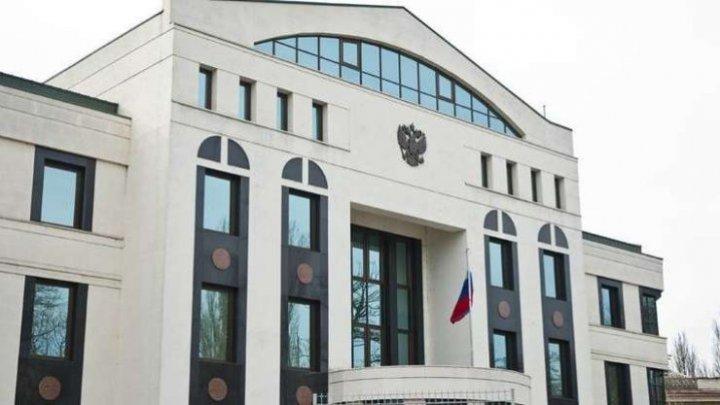 Реакция посольства РФ в Молдове на политическую ситуацию в стране