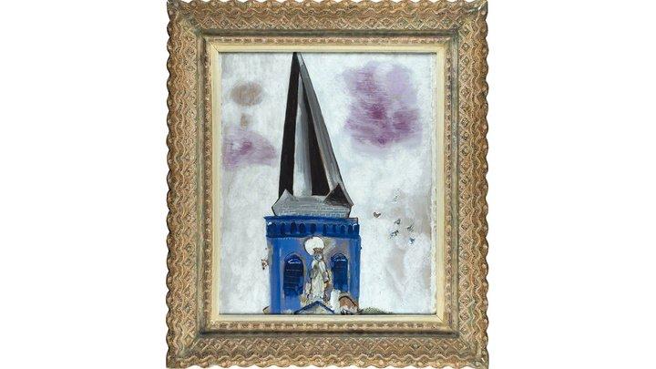 Картину Марка Шагала продали в 10 миллионов раз дороже стартовой цены