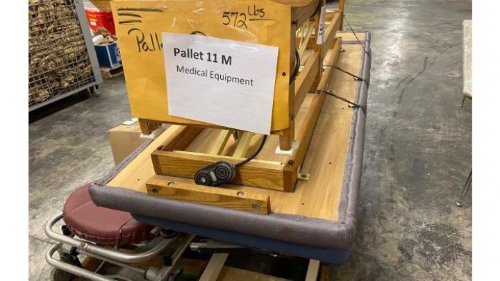 Штат Северная Каролина передал 15 тысяч тонн медицинских материалов для молдавских больниц