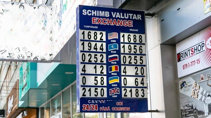 Курс валют на 17 января 2020: молдавский лей продолжает падать