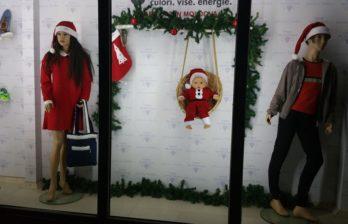 Фото новогодних витрин бельцких магазинов