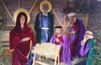 Рождественские вертепы собора Константина и Елены и собора святого Николая
