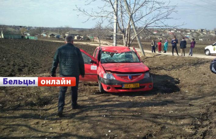 (ФОТО) Водитель такси из Бельц погиб в ДТП у села Марандены