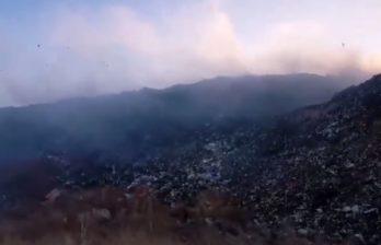 (ВИДЕО) Фабрика смерти рядом с Бельцами - мусорный полигон, отравляющий город