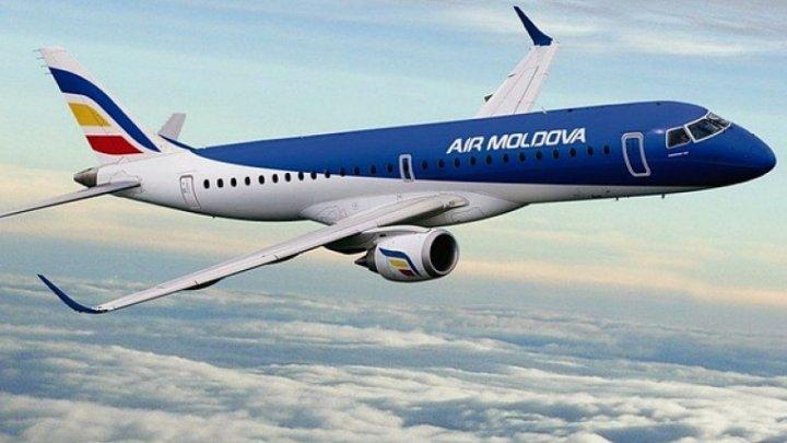 Air Moldova приостанавливает все полёты до 15 мая