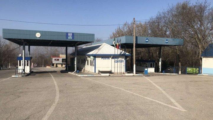 Два КПП на границе Молдовы с Румынией и Украиной приостанавливают работу
