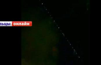(ВИДЕО) Над Бельцами пролетели спутники Илона Маска