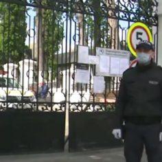 (ВИДЕО) В поминальные дни на кладбищах дежурят полицейские