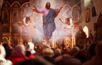Православные верующие отмечают один из главных христианских праздников — Вознесение Господне
