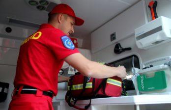 (ФОТО) SMURD пришла на помощь жительнице Бельц. Женщину доставили в Кишинёв
