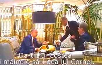 Обнародовано новое видео встречи Додона и Плахотнюка