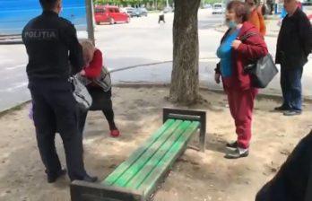 (ВИДЕО) Реакция полиции на видео, согласно которому правоохранитель грубо обращается с пенсионеркой
