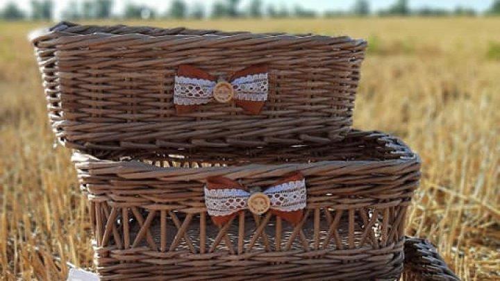 Молодая мама из Дрокии создает экологичные сумки и корзинки из бумаги