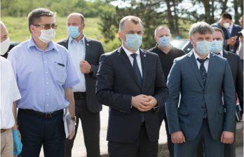 Премьер проинспектировал ход дорожно-строительных работ на трассе Кишинев - Оргеев - Бельцы