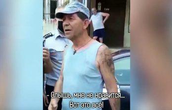 (ВИДЕО) В столице автомобилист сел пьяным за руль, повредил три машины и устроил шоу, когда приехала полиция