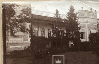 Дом помещика Бодеску, префектура Бельцкого уезда, ныне - ЗАГС. Фотография вблизи - большая редкость!