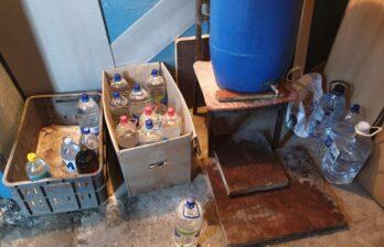 В Бельцах полиция пресекла производство контрафактного этилового спирта