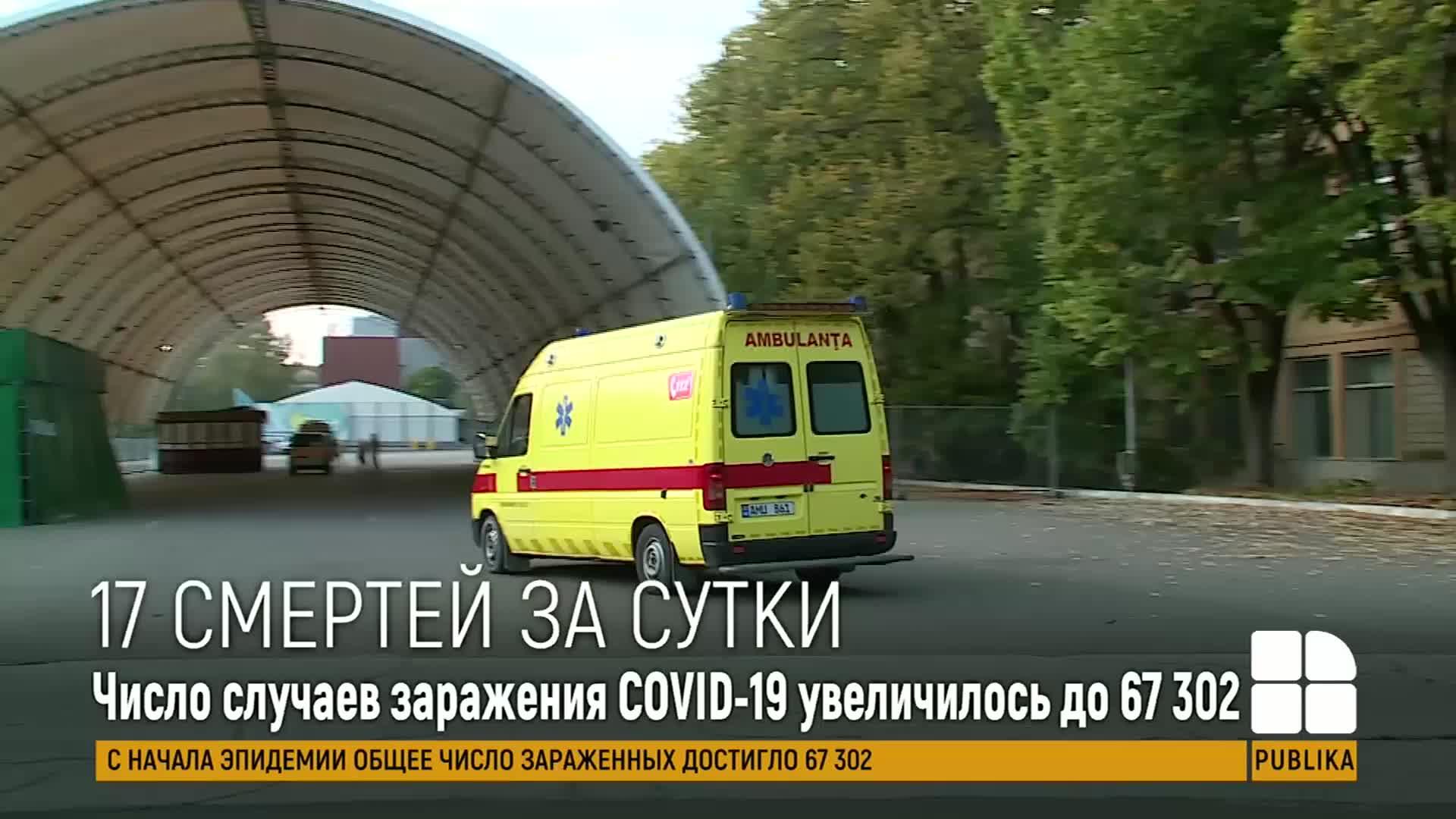 В Молдове подтвердили еще 252 случая заражения коронавирусом