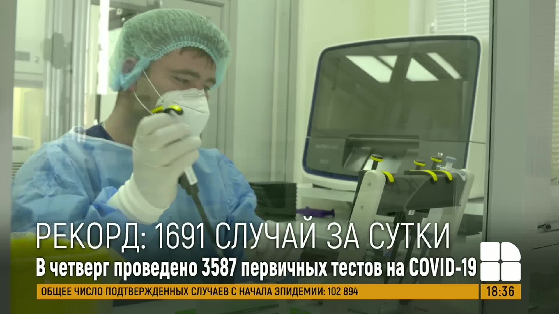 Абсолютный рекорд по заболевшим коронавирусом: +1691 случаев