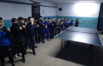 В спортивно-оздоровительном клубе «Панкратион» прошёл турнир по настольному теннису
